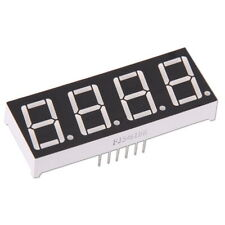 "4-stellige 0.56"" Anzeige Anode Rot 7-Segment Sieben Common LED Display Arduino"