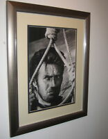 """Clint Eastwood Signed 16""""x12"""" Autograph, The Good, The Bad, and The Ugly, AFTAL"""