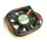 Colorful ball bearing brushless CPU cooling fan EC-5010 12V 0.15A 3-wire 3-pin