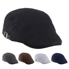 Mens Womens Duckbill Ivy Cap Golf Driving Flat Cabbie Newsboy Beret Hat Cotton