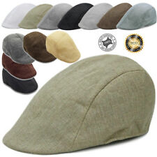 Mens Womens Flat Cap Baker Boy Cap Peaked NewsBoy Country Outdoors Golf Boy Hat