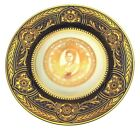 Caverswall 90th birthday Queen Mother Eclipse plate Limited Edition to just