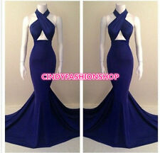 New Women Sexy Sleeveless Prom Ball Cocktail Party Formal Evening Gown Dresss