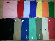 NWT Authentic Polo Ralph Lauren Men's Crewneck T Shirt Sizes S M L XL  14 Colors