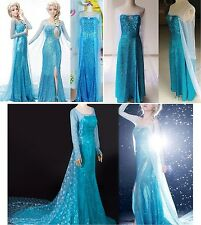 Frozen - Vestito Carnevale Elsa Adulto  - Dress up Woman Elsa Costumes 8899001-2