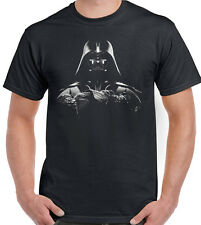 Darth Vader-Linea Uomo Divertente T-SHIRT star wars starwars la forza SCALDA VII