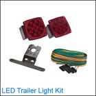 Submersible 12-Volt LED Trailer Towing Light Kit For Boat RV Cars--Brand NEW