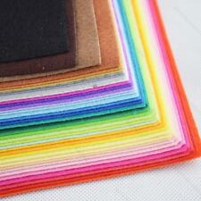 40 Colors Felt Sheets DIY Craft Supplies #I Polyester Wool Blend Fabric 15-30cm