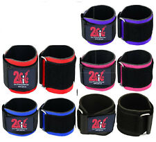 2fit weightlifting wrap poignet brace soutien formation heavyduty Rembourré Gym Bretelles