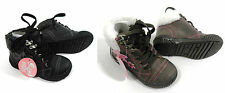 Goody 2 Shoes Black Brown Walking Flower Ankle Boots UK Size Infant 8 - Older 2