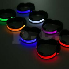 Flashing colorful night LED necklace for pets - dogs size S M L XL