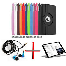 "OP PU Holder Leather 360 Case Cover +Film +Headphone For 12.9"" iPad Pro Tablet"