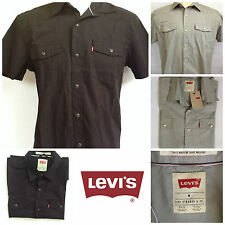 Levi Barstow Western Mens Short Sleeve Red Tag Casual Shirt,Size M,L, XL