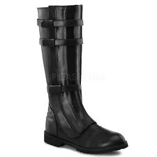 Black Star Wars Darth Vader Space Pirate Mens Costume Boots Shoes size 8 9 10 11