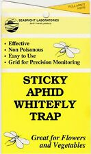 Blue or Yellow Sticky Aphid Whitefly Traps Thrips Leaf Miners Variation Listing