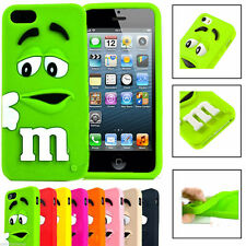 Rubber Silicone Soft Colorful Case Cover For Apple iPhone 4/5 Samsung Galaxy S3