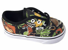 New vans Authentic Canvas [Disney] The Jungle Book BlackInfant Toddler size 5-10