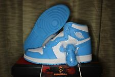 Nike Air Jordan Retro I 1 High OG UNC 2015 North Carolina Powder Blue 555088-117