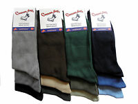 12 PAIRS MENS BOYS FRESHFEEL COTTON RICH VALUE SOCKS ASSORTED COLOURS UK 6-11