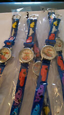 Disney Cars 3D Jelly Watches - Blue - Free P&P