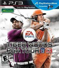 Tiger Woods PGA TOUR 13 PS3 NEW! MOVE COMPATIBLE! INCLUDES THE MASTERS! GOLF