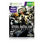 Steel Battalion Heavy Armor Microsoft Xbox 360 Kinect Game Action - New Sealed