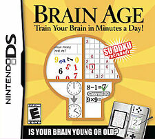 NEW Brain Age Game For Nintendo DS NEW - SEALED - Free Shipping