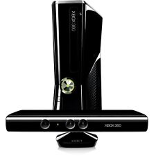 Microsoft Xbox 360 with Kinect 4 GB Matte Black Console