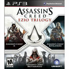Assassin's Creed: Ezio Trilogy (Playstation 3 PS3 Video Game, 2014 Brand New)