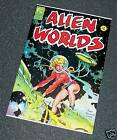 Frazetta Stevens Williamson ALIEN WORLDS #4 9.0 VFNM NEW Bag & Board