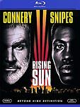 RISING SUN SEAN CONNERY WESLEY SNIPES BLU RAY DVD