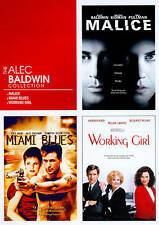 Alec Baldwin Collection (DVD 2010, 2 Disc) Malice, Working Girl, Miami Blues NEW