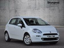 2014 Fiat Punto EASY Petrol white Manual