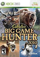 Cabela's Big Game Hunter 2010 Xbox 360 Complete CIB *FAST FREE SHIPPING
