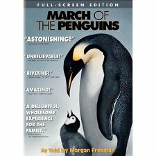 March of the Penguins (DVD, 2005)/NEW  STILL SEALED!!!!