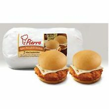 Pierre Mini Twin Spicy Breaded Chicken Sandwich with Cheese, 5.5 Ounce -- 12 per