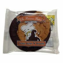 Brownie Baker Individually Wrapped Peanut Butter and Brownie Cookie, 5.5 Ounce