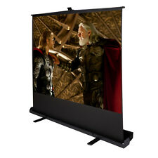 """80"""" Inch 4:3 Portable Pull Up Floor Projector Projection Screen w/Aluminium"""