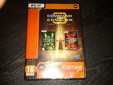 NEW Command and Conquer 3 Deluxe Edition (Tiberium Wars + Kane's Wrath) PC