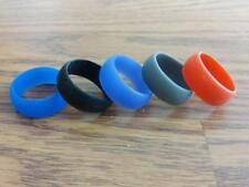 Flexible Silicone Rubber Wedding Band Ring Men Women Hypoallergenic
