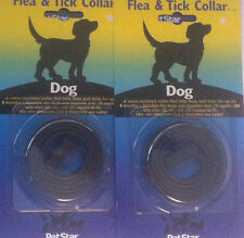 2 x Flea Collar Large Medium Small Dog Simply Cut To Size FREE First Class Post.