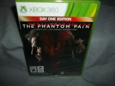 Metal Gear Solid V: The Phantom Pain Day One Edition (Microsoft Xbox 360) New