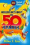 Fabulous Facts About The 50 States (1991, Paperback) Wilma S. Ross