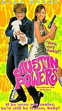 (NEW)Austin Powers: International Man of Mystery(VHS,1997) MIKE MYERS. FREE SHIP
