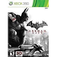 Batman: Arkham City (Xbox 360, 2011)VG (Disc Only) Works Great Ships Fast