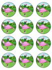 12 Dorothy The Dinosaur Edible Icing Cupcake Cake Decoration Party Image Toppers