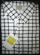 Official Shah Safari Marty McFly Back to the Future button up shirt New Xl & Xxl