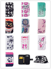 """Design Cartoon PU Leather Flip Wallet Stand Case For Iphone 5 5S 6 Plus 6S 5.5"""""""