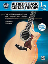 Alfred's Basic Guitar Theory, Books 1 & 2: Easy Guitar Sheet Music