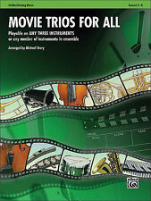 Movie Trios for All: Cello Sheet Music / Songbook
